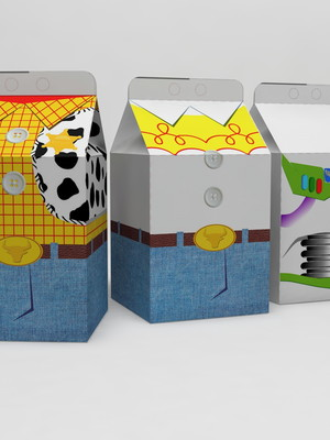 Arquivos de Corte Caixa Milk Toy Store