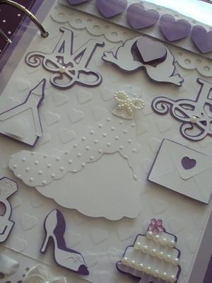 diário da noiva personalizado organizar os orçamentos scrap