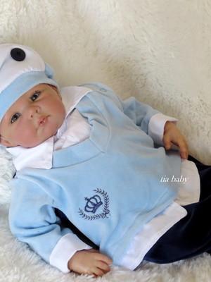 Saída de Maternidade Príncipe Azul