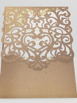 Arquivo silhouette para Convite Vazado