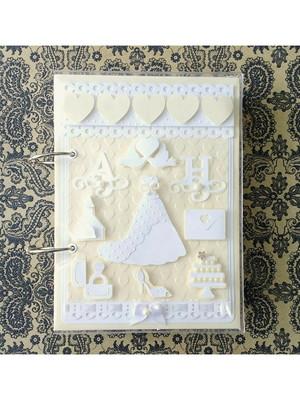 agenda da noiva personalizada organizado casamento scrapbook