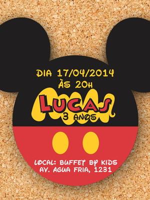 Convite Mickey (digital)
