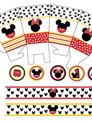 Kit Festa Mickey e Minnie - digital