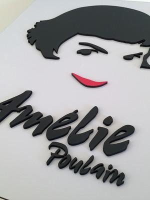 Quadro / Painel Decorativo Amélie Poulain