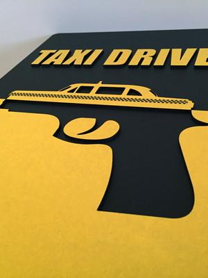 Quadro / Painel Decorativo Taxi Driver