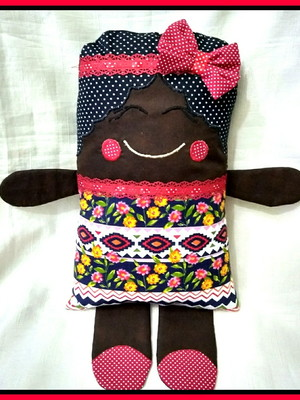 Naninha Menina Negra