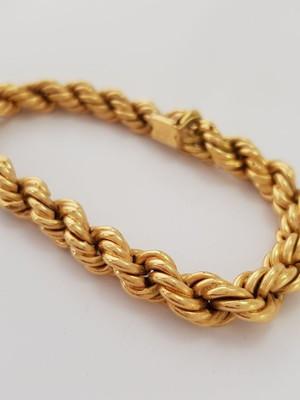 Pulseira feminina de Ouro 18k (21,4 g)