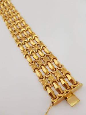 Pulseira feminina de Ouro 18k (40,2 g)