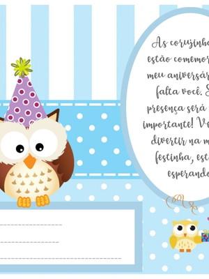Convite Corujinhas 002