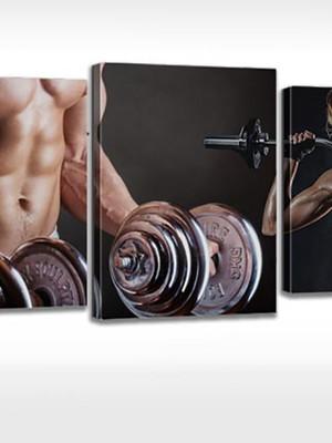 Quadro Personalizado Tela Academia Fitness Malhação Personal
