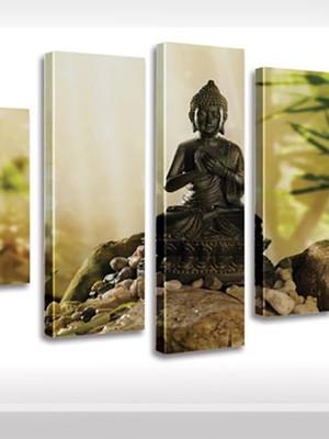 Quadro Personalizado Tela Zem Reiki Meditação Budah Lord Gan