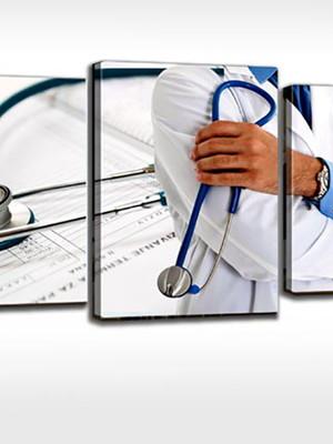 Quadro Personalizado Tela Consultório Médico Medicina Médica