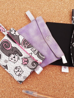 Mini carteira porta cartões * escolher tecidos *