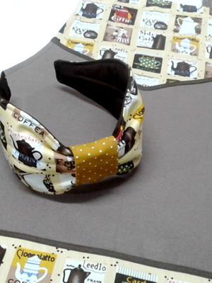 Kit Avental e Tiara Personalizado