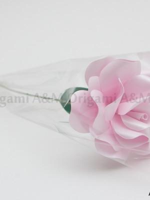 Rosa de papel Eli (avulsa)