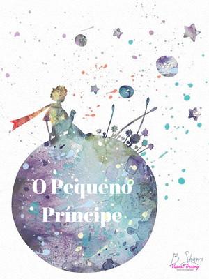 Arte Gráfica Bloco de Anotações Pequeno Príncipe