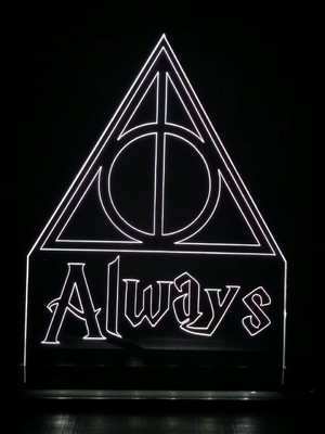 Luminária Harry Potter