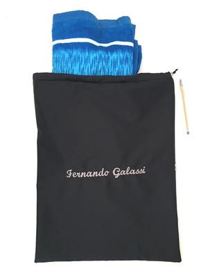 saco com nome bordado e plastificado por dentro 38x48cm *