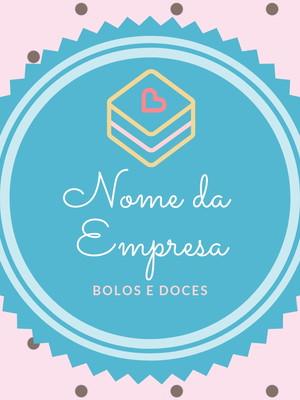 Logotipo Confeitaria Bolo 03