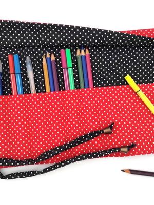 Estojo de enrolar para 78 lápis ou 52 canetas *