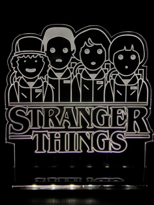 Luminária Stranger Things