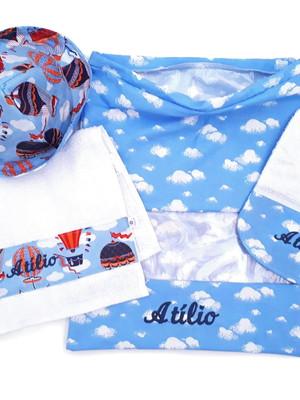 Kit passeio do bebê com 4 produtos *