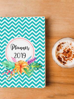 Arte Digital Planner Flores 2019