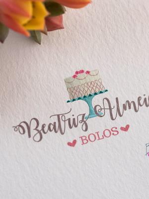 Logotipo Confeitaria Bolo 02