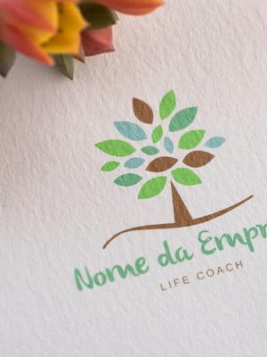Logotipo Life Coach - Arte Digital