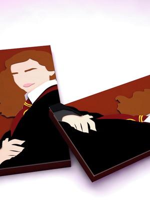 Arquivos de corte Caixa Barra de chocolate Harry Potter
