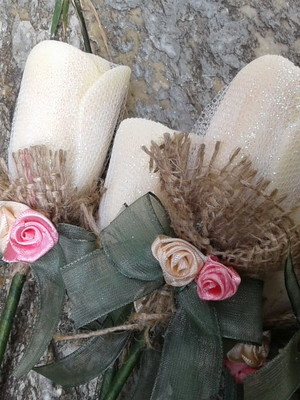 Botão de Rosa de sabonete
