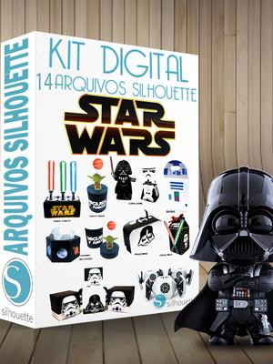 Arquivo silhouett Star Wars