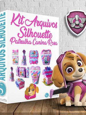 Arquivos silhouette Patrulha Canina Rosa