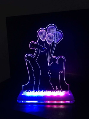 Luminária LED Família