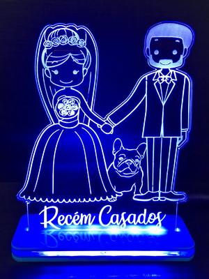 Luminária Casal Recém Casado