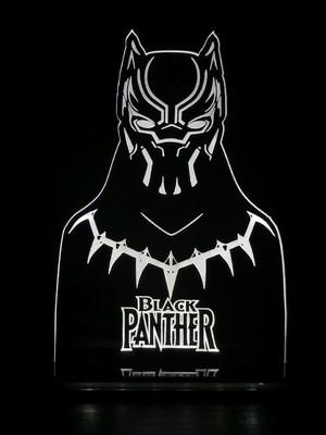 Luminária Led Pantera Negra
