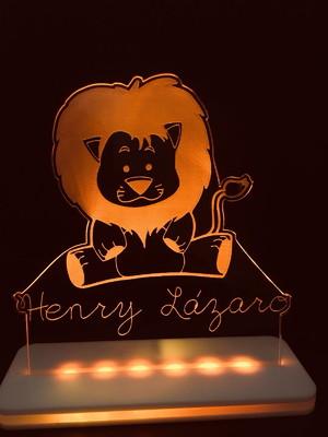 Luminária LED Personalizada Infantil