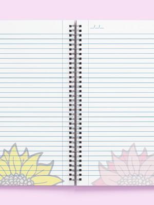 Miolo Digital Caderno Floral A4