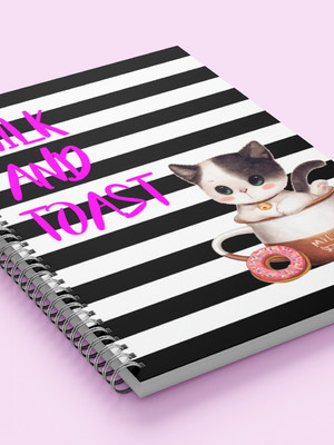 Caderno Digital Gatinhos A4