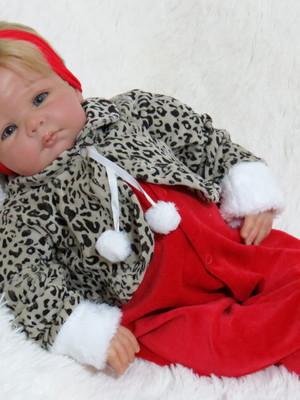 Saída De Maternidade Oncinha Vermelha