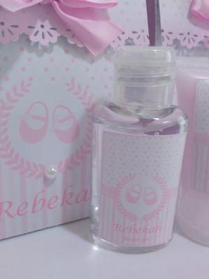 Lembrancinha de Maternidade: Kit Higiene Personalizado