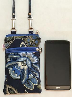 Case Smartphone FLORAL AZUL