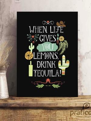 Quadro Decorativo Área de Lazer Tequila