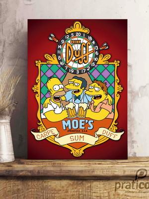 Quadro Decorativo Área de Lazer Cerveja - Duff - Moes