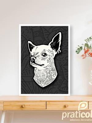 Quadro Decorativo Pet Cachorro Chiuaua