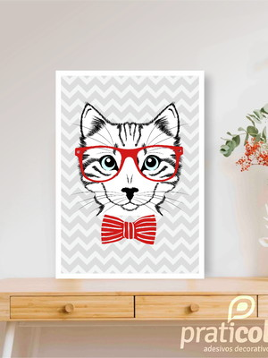 Quadro Decorativo Pet Gato