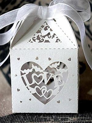Caixa para bem casado silhouette