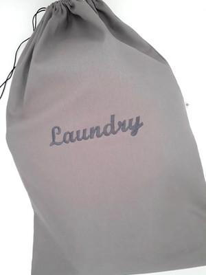 Saco Laundry para roupa suja BRIM CINZA