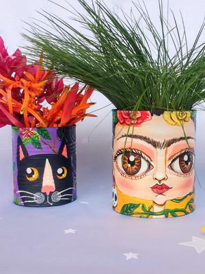 Frida Kahlo e o gato