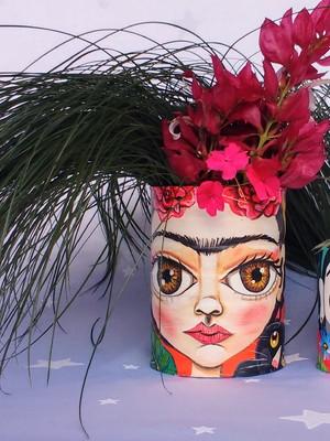 Frida Kahlo | Kit com 2 latas